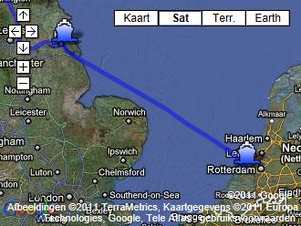 De Boot Van Rotterdam Naar Hull Reisverslag En Foto S