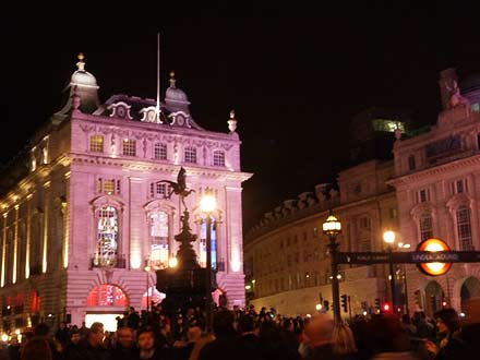 Londen by night (Piccadilly Circus)